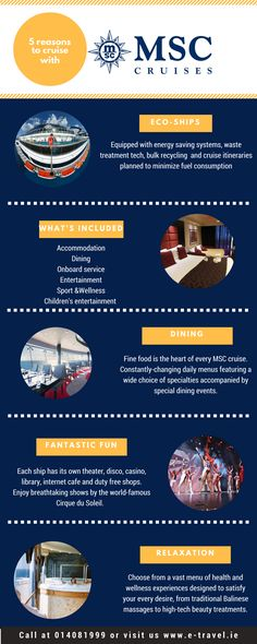 Explore a world of wonders with MSC Cruises.