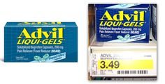 Advil Liqui-Gels, $1.49 at Target