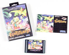 Sega Mega Drive Spiel The Flintstones in OVP