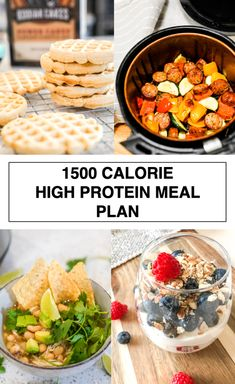 1500 CALORIE HIGH PROTEIN MEAL PLAN