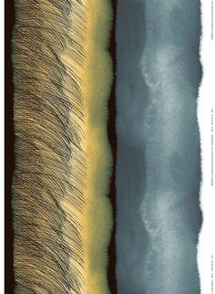Marimekko Kuuskajaskari Linen Fabric Collection: The Weather Diary Fall Print: Aino-Maija Mestola. Grey Fabric, Linen Fabric, Modern Fabric, Cotton Fabric, Helsinki, Textiles, Marimekko Fabric, Types Of Curtains, Design Blog