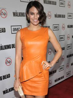 The Walking Dead Season 3 Premiere Party Photos- Lauren Cohan (Maggie Greene)