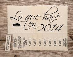 Lista de propositos para Año Nuevo
