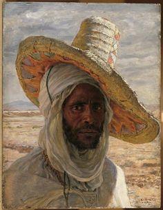 Arabe au grande Chapeau Etienne Dinet, 1901 musée d'Orsay
