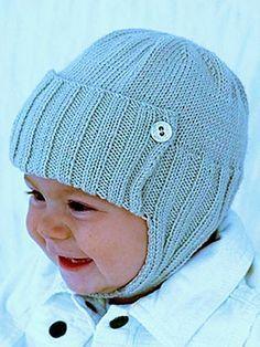 Ravelry: James or Jane Baby Hat free pattern by Vera Sanon