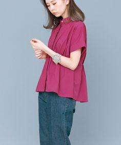 【ZOZOTOWN|送料無料】KBF(ケイビーエフ)のシャツ/ブラウス「【WEB限定】 KBFノーカラーペプラムシャツ」(KW75-23M180)を購入できます。