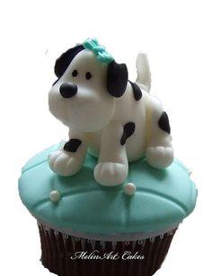 Little Puppy cake topper
