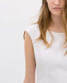 Image 5 of COTTON SLEEVELESS DRESS from Zara
