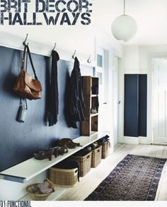 Brit Decor: Hallways