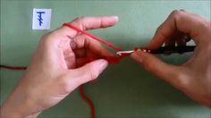 horgolás video tanfolyam 7. rész kétráhajtásos pálca