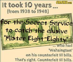 23 Mind-Blowing (True) Facts About Money Slideshow   Cracked.com