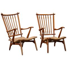 Pair of French Modern Chairs. Obsolete.