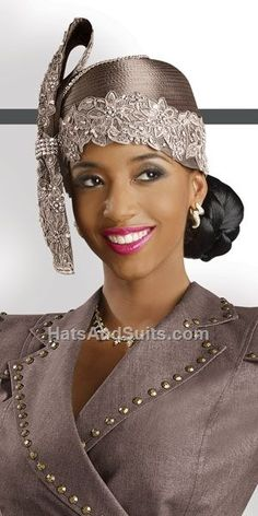 Image detail for -home previous styles donna vinci couture church hat h2057