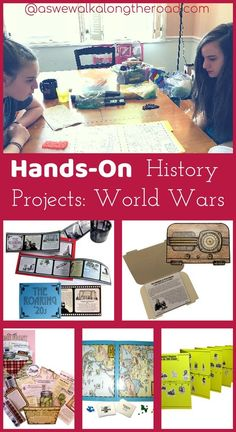 Are you looking for hands-on history resources? Here's a look at how we're using hands-on projects along with a literature-based approach to history. #homschooling #history