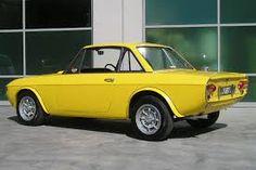 「lancia fulvia yellow」の画像検索結果