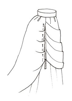 I'm very proud of my Victorian bustle skirt. It wasn't very hard to sew, so I want to share my self-made pattern and the basic instructions,...