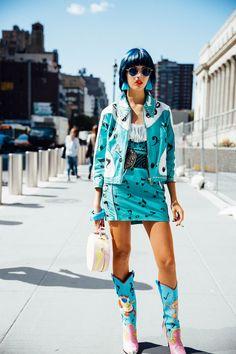 NYFW Street Style SS 2017 Jeremy Scott | @KatyaGuseinova