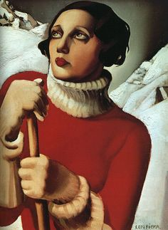 One of my favorite Tamara de Lempicka paintings