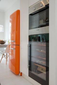L'appartement au Smeg orange