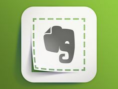 Evernote Web Clipper by Carlos Rocafort for Evernote Design