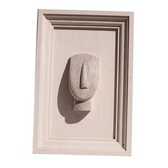 Hand sculptured Wooden Oak frame of the Cycladic Figure