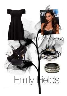 """""""Pretty Little Liars. Emily Fields at Ali's funeral."""" by hollyampage ❤ liked on Polyvore featuring Disney"""