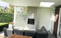 Outdoor Shutters, Three Season Room, Carport Garage, Big Garden, Outdoor Living, Outdoor Decor, Back Patio, Pergola, Lounge