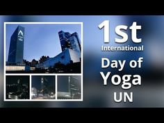 Sri Sri Ravi Shankar's address at the UN's first International Yoga Day celebration in 2015 at New York City.