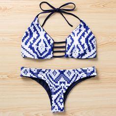 Hot Triangle Swimwear Bandage Bikini - Brazilian Bikini Swimsuits #bikini #swimsuits #swimwear