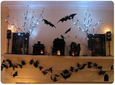 decorate with halloween bats - Bing Images