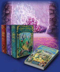 THE LAND OF STORIES by Chris Colfer - these look pretty awesome!