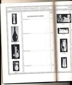 Priskatalog Egersunds Fayancefabriks Co priskurant fra 1909 - Selges av Finnkroken fra Råde på QXL.no
