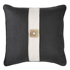 Horn Button Black Cushion