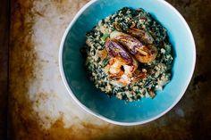 Ndolé (Bitterleaf/Kale Peanut Stew with Shrimp & Plantain) // .wandercrush.