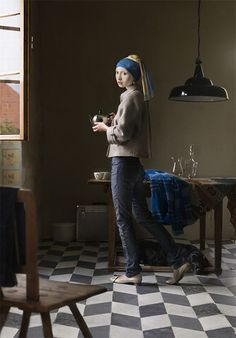 This is beauty:  This isn't happiness™ (Girl with the Pearl Earring), Peteski