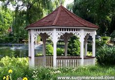 Gazebo Kits and Plans for sale