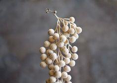 crochet earring by Miho Fujita: