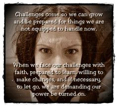 prepare for challenges.