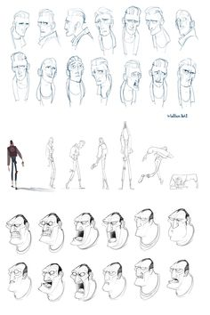 ✤    CHARACTER DESIGN REFERENCES   キャラクターデザイン • Find more at https://www.facebook.com/CharacterDesignReferences if you're looking for: #lineart #art #character #design #illustration #expressions #best #animation #drawing #archive #library #reference #anatomy #traditional #sketch #development #artist #pose #settei #gestures #how #to #tutorial #comics #conceptart #modelsheet #cartoon #male #man #men #face    ✤