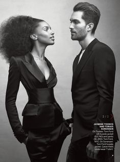 here comes the night: vogue february 2013