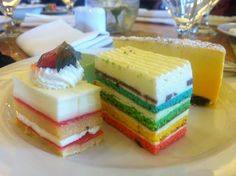 Rainbow Cake @JW Marriot