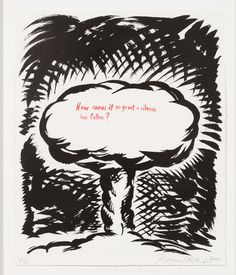 Raymond Pettibon, 'Untitled (How Comes it so Great a Silence...), from Plots on Loan I,' 2000, Leslie Sacks Gallery