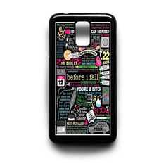 Before I Fall Samsung Galaxy S3 S4 S5 Note 2 3 4 HTC One M7 M8 Case