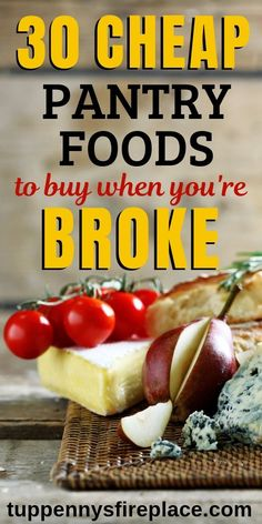 30 Of The Best Cheap Foods To Buy When You're Broke These cheap healthy foods are what your shopping list needs. Budget foods to make budget dinner recipes including vegetarian, for two and families. The best frugal and easy cheap… Continue Reading → Healthy Foods To Buy, Healthy Recipes On A Budget, Easy Dinner Recipes, Gourmet Recipes, Veggie Recipes, Healthy Eating, Frugal Meals, Budget Meals, Easy Meals