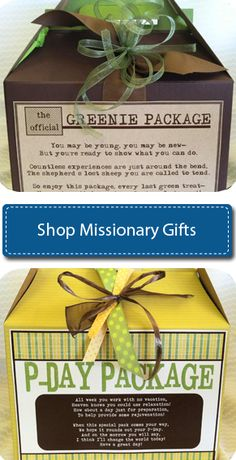 Website for missionary gifts