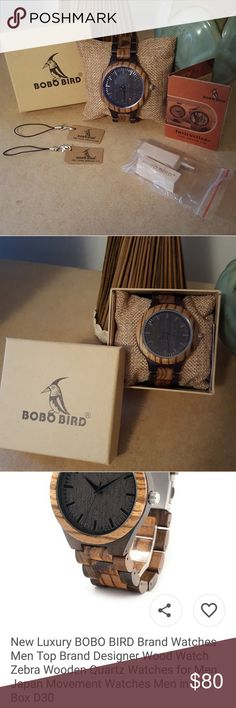 💙Host Pick💙JUST ARRIVED! BOBO BIRD WATCH! Authentic BOBO BIRD WATCH♡♡♡♡  Everything in the picture is included!  Never worn. BOBO BIRD Accessories Watches