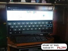 SPARC SMART / ANDROID / WIFI TV = P6,299 Only ! pwede gamitan ng Keyboard & Mouse #femalegears.com #random #lovethese #shopping #women #female
