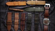 Bunch of panerai straps - About ilemleathergoods