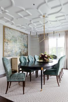 Jenn Feldman Designs. Elegant and understated -- gotta make room for that ceiling to be noticed!