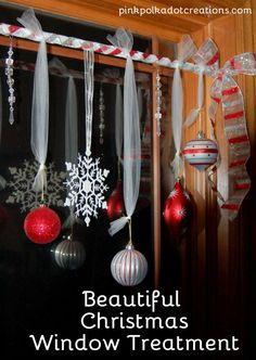 Christmas decor for the windows.